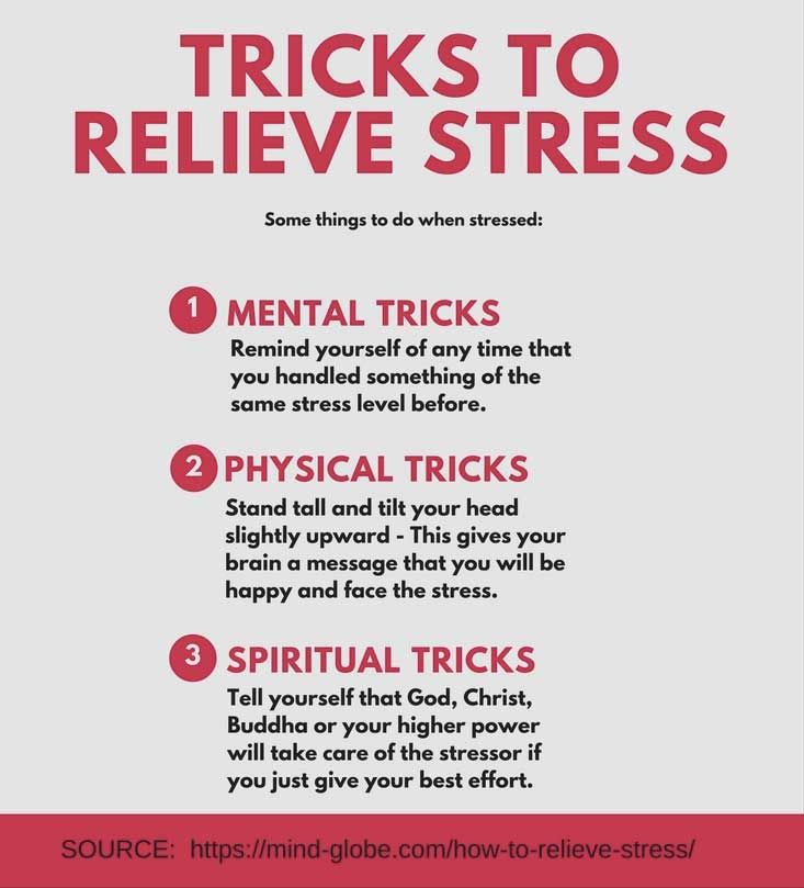 how to relieve stress quickly