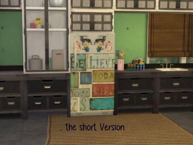 Annett's Sims 4 Welt: Fridge Part 2 - New Sizes by ChiLLis Sims & Recolo...