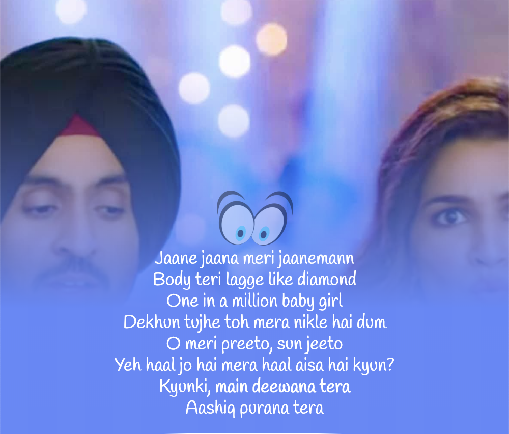 MAIN DEEWANA TERA LYRICS Arjun Patiala Lyrics, Songs