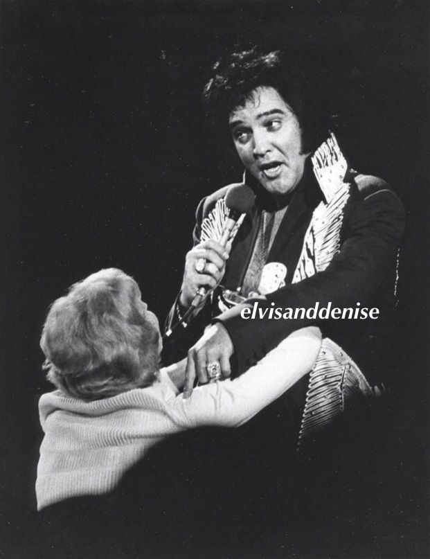 f5e6feb94052 A fan getting up close Love his face in the first... - Elvis never left