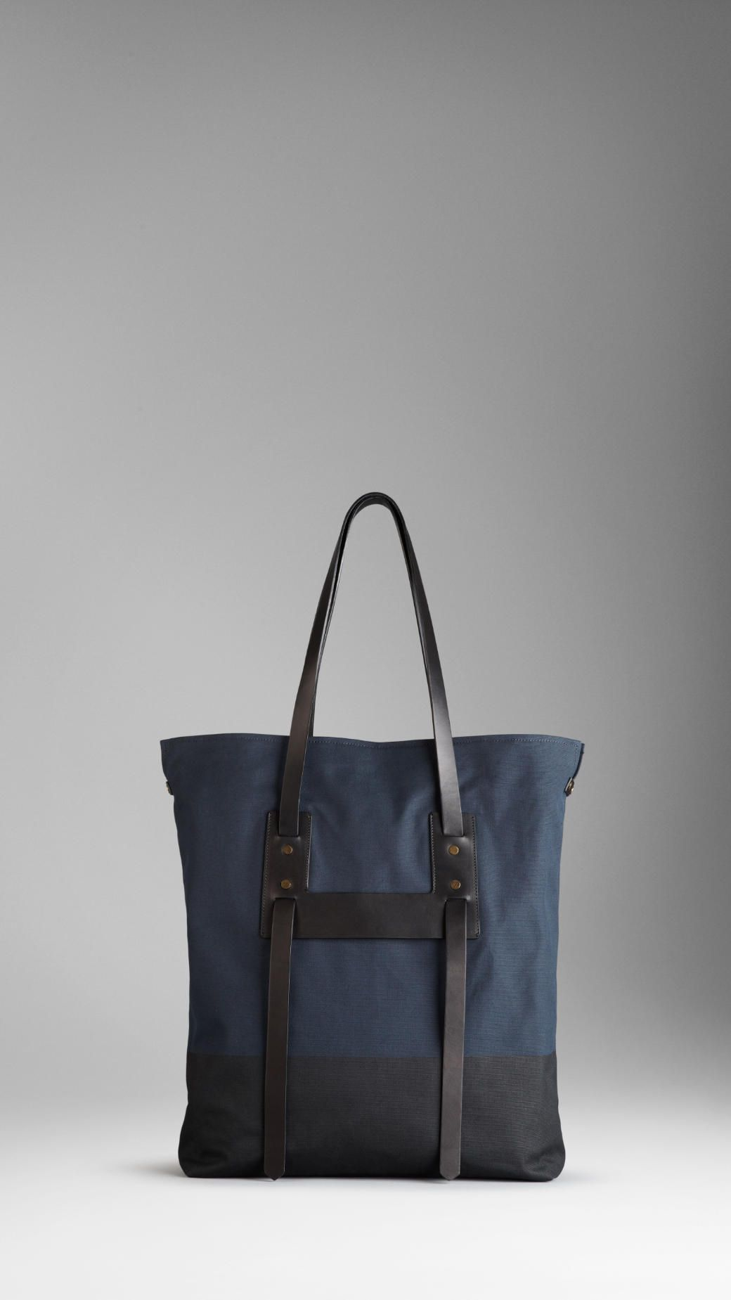 Burberry mens canvas tote bag 2