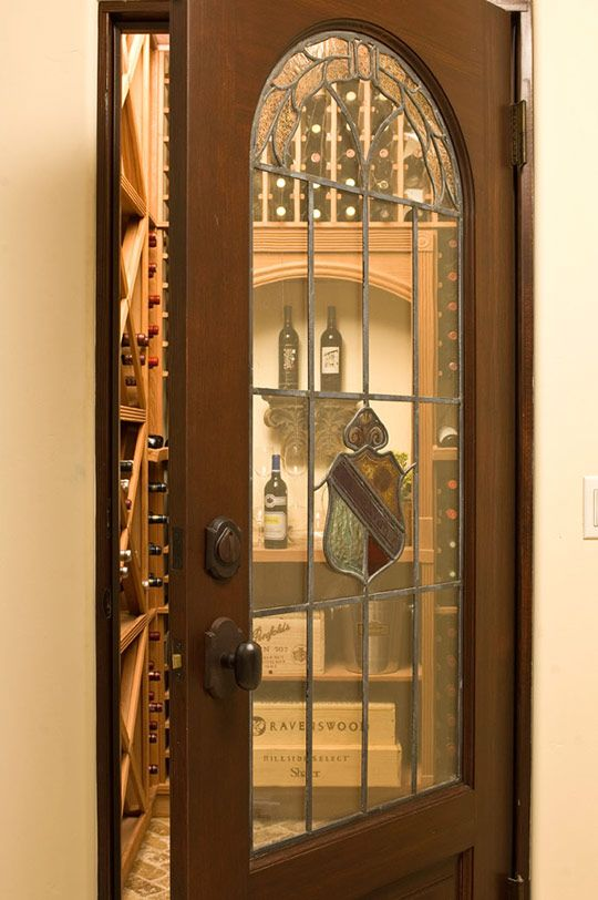 A wine cellar, with an 18th century inspirational design.