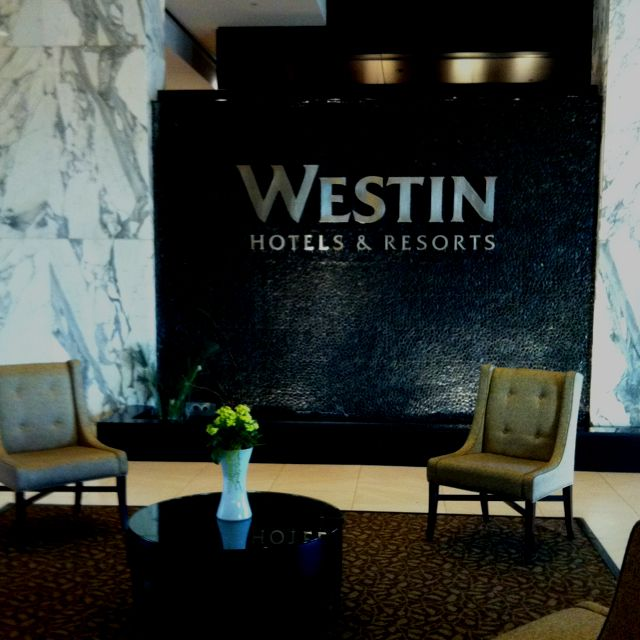 The Westin Baltimore, great hotel, Heavenly Bed!
