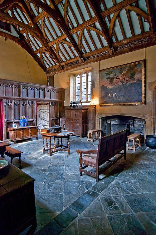 The Great Hall at Lytes Cary, Somerset, England by Sprackarts Interior design atlanta, World