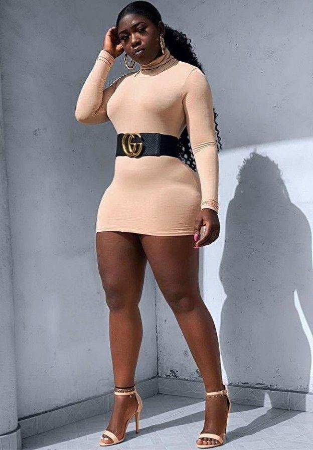 Ebony Bbw Throwing Back