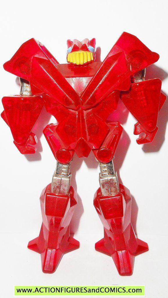 gobots rock lords FLAMESTONE jewel lords vintage 1986 tonka ban dai go bots ROCKLORDS
