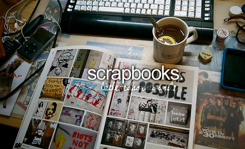 i have one, and i have a scrap wall, its a wall full of pictures of me and my friends, and drawings  <3