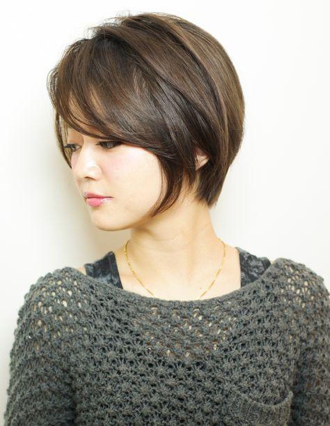 大人 ミセスの毛流れショートヘア Yr 439 ヘアカタログ 髪型