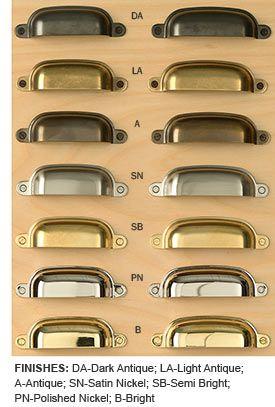 Forged Brass Bin Pulls Brass Kitchen Hardware Kitchen Handles Kitchen Cabinets Makeover