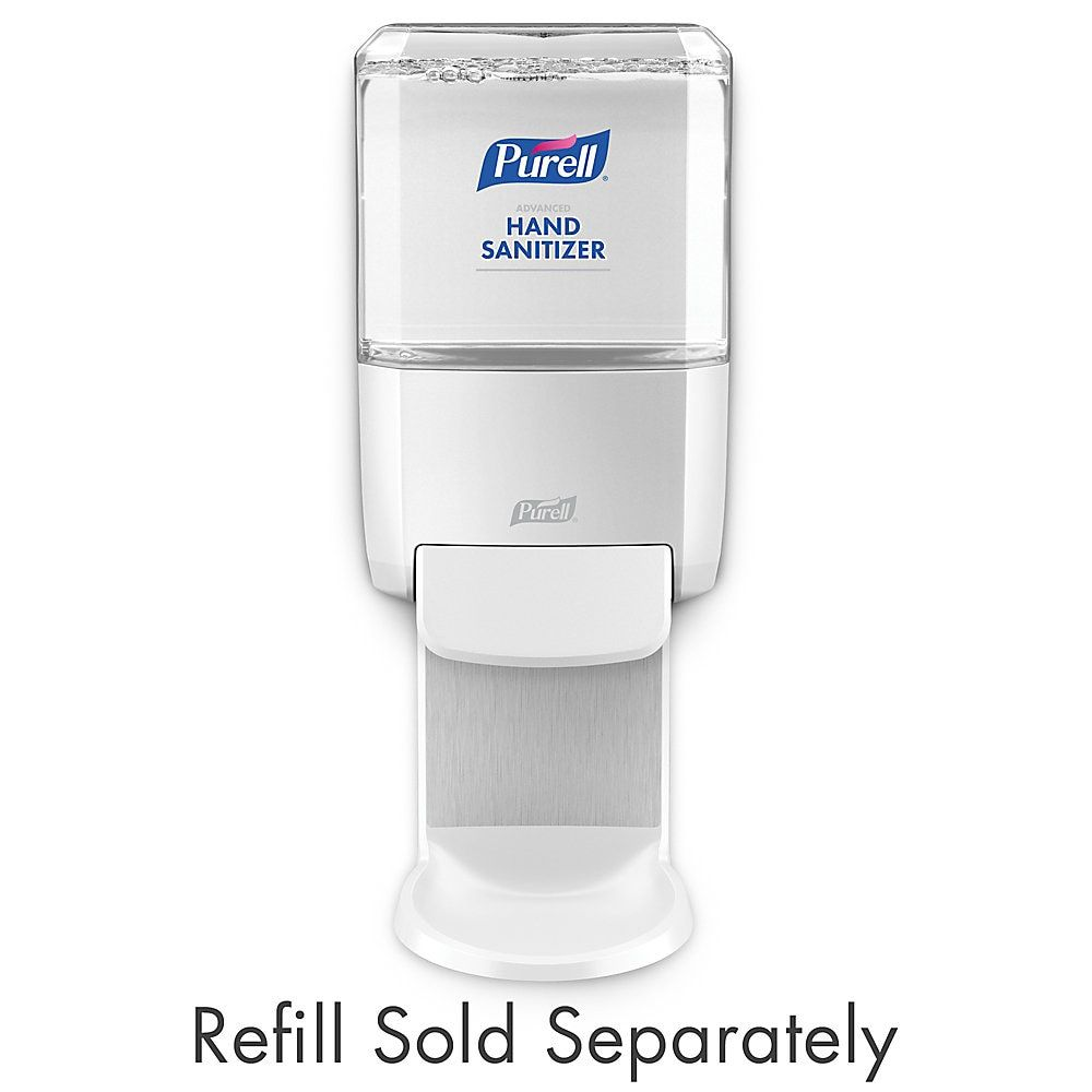 Purell Es4 Wall Mount Hand Sanitizer Dispenser White Hand