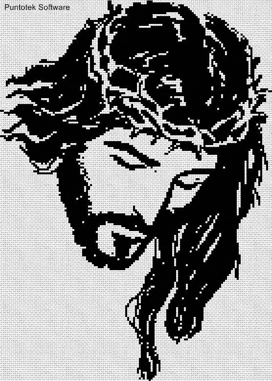 Cristo en punto de cruz