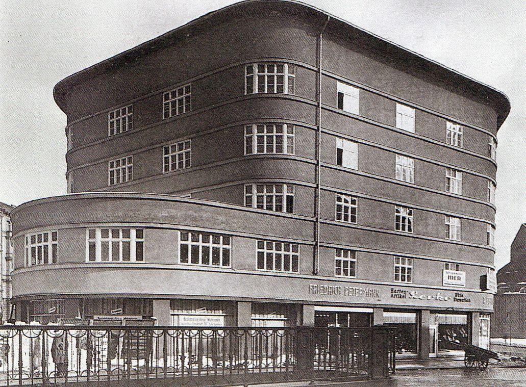 Berlin rekonstruktion des scheunenviertels hans poelzig for Architektur 20er