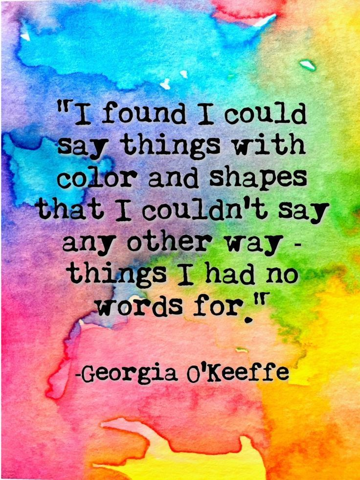 colourful printable Creativity quotes, Art quotes, Color