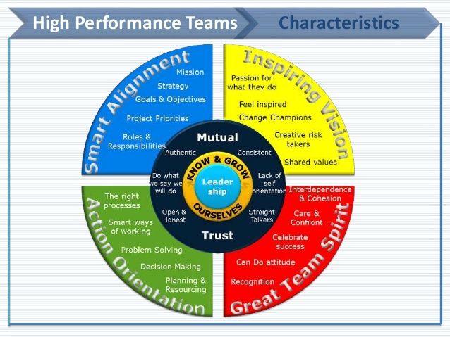 high performing teams model