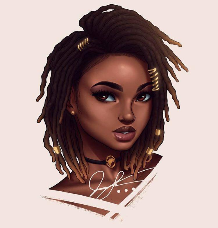 Pin By Malik Franklin On For Your Eyes Only 2 Lol Black Art Black Women Art Black Girl Art