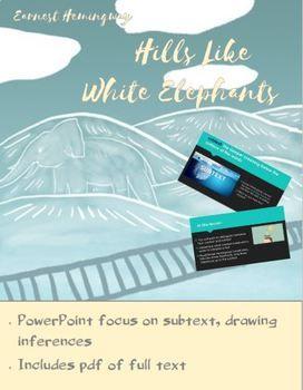 Essays on hills like white elephants