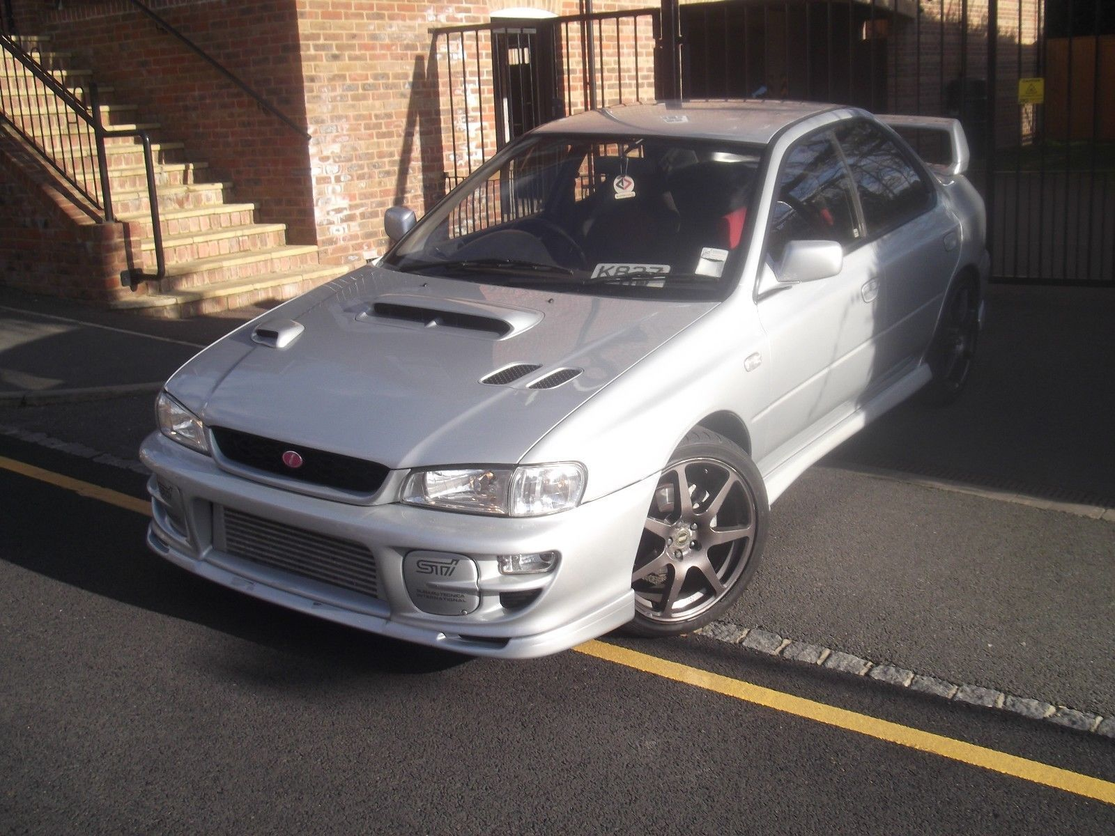 the link to see more pics and details of this 1993 subaru Impreza 2 0 Wrx Version 1 Td05 Jap Import Fmic Hks Modified