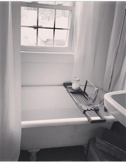 #farmhouse #clawtub #view #bath