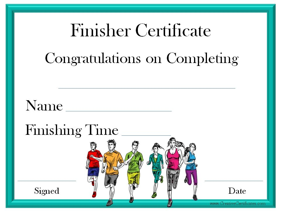 Finisher Certificate Classroom Ideas Pinterest Certificate And