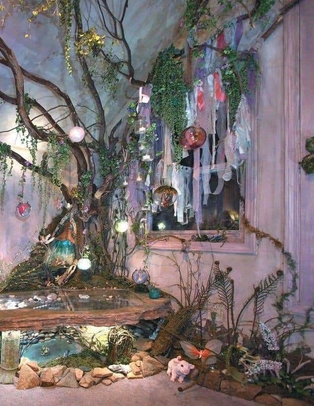 Pin by sian cusack on tree   Fairy bedroom, Fairytale ...