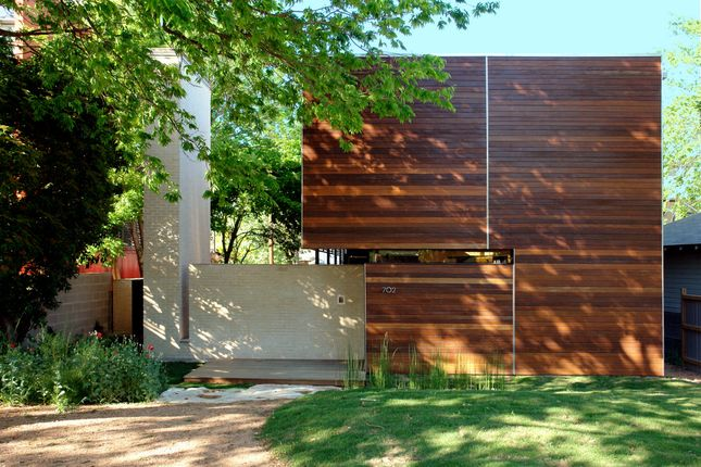 Lovely composition in this house by architect MJ Neal in Austin, TX.