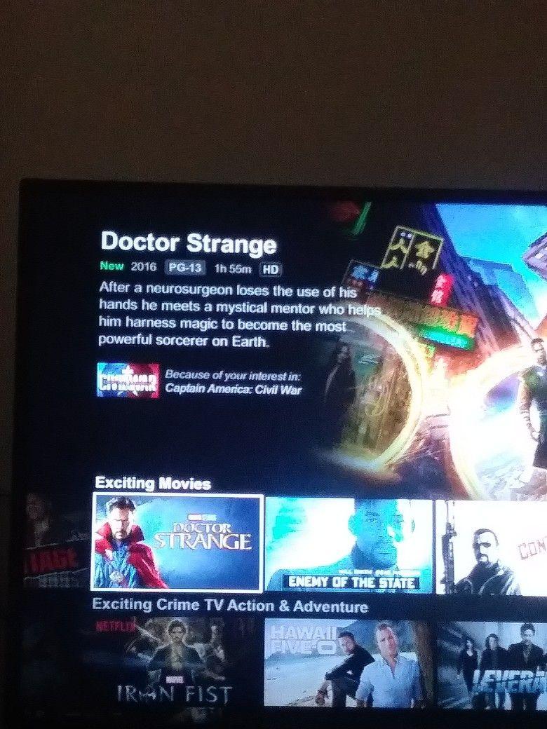 Doctor Strange is now on Netflix. #nerdout