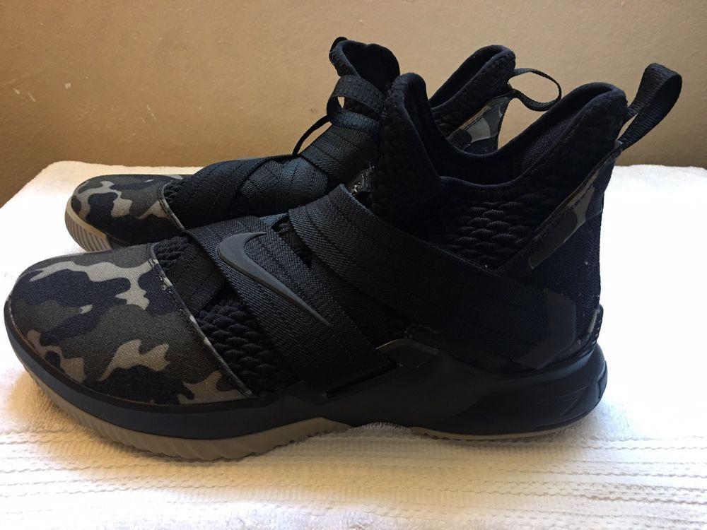 441918030ca6 Nike Lebron Soldier XII 12 SFG Mens Size 9.5 Basketball Shoes Camo AO4054  001  fashion