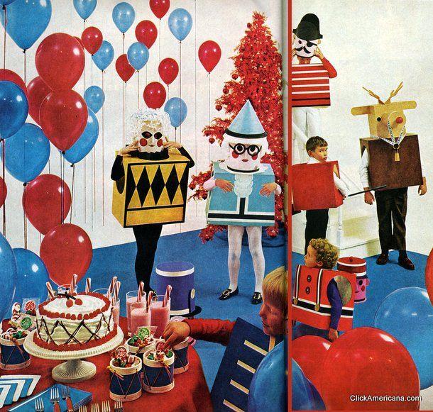 Retro Christmas Party Ideas Part - 16: Pinterest