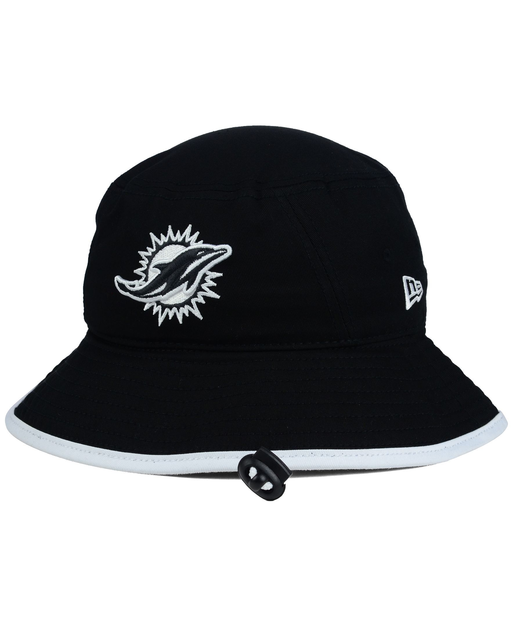 0344b307261 ... discount new era miami dolphins nfl black white bucket hat 3cfa4 b7292  ...