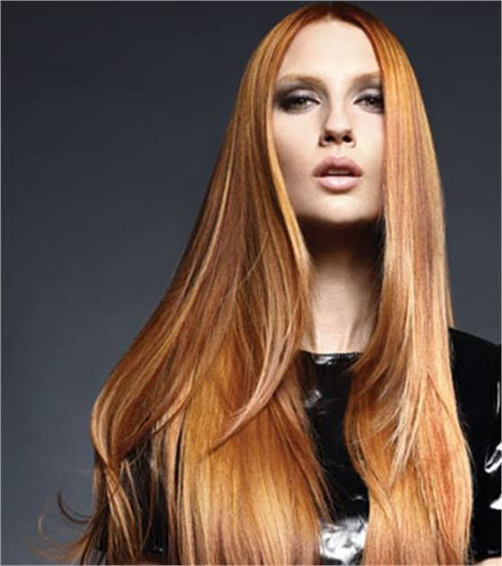 SHINY PENNY: Goldwell Copper Color Formula and Kerasilk How To  Crafty  Hair color formulas