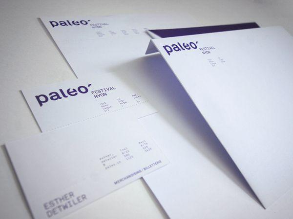 Paleo Festival Nyon By Maude P Lescarbeau Via Behance Paleo Festival Festival Graphic Design