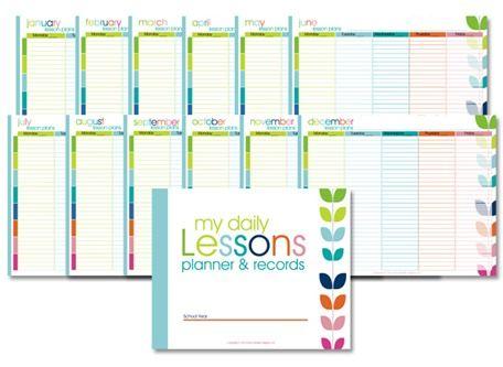 free homeschool lesson planner www confessionsofahomeschooler com