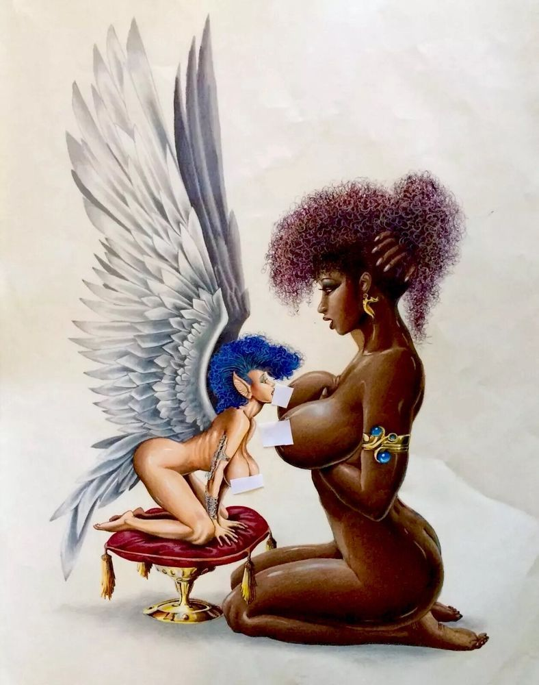 Шлюха, erotic mythical fantasy art pussy