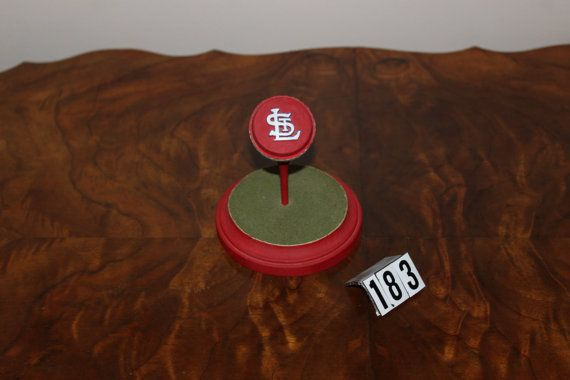 St.Louis Cardinal's Logo Golfball by NCProductsLLC on Etsy