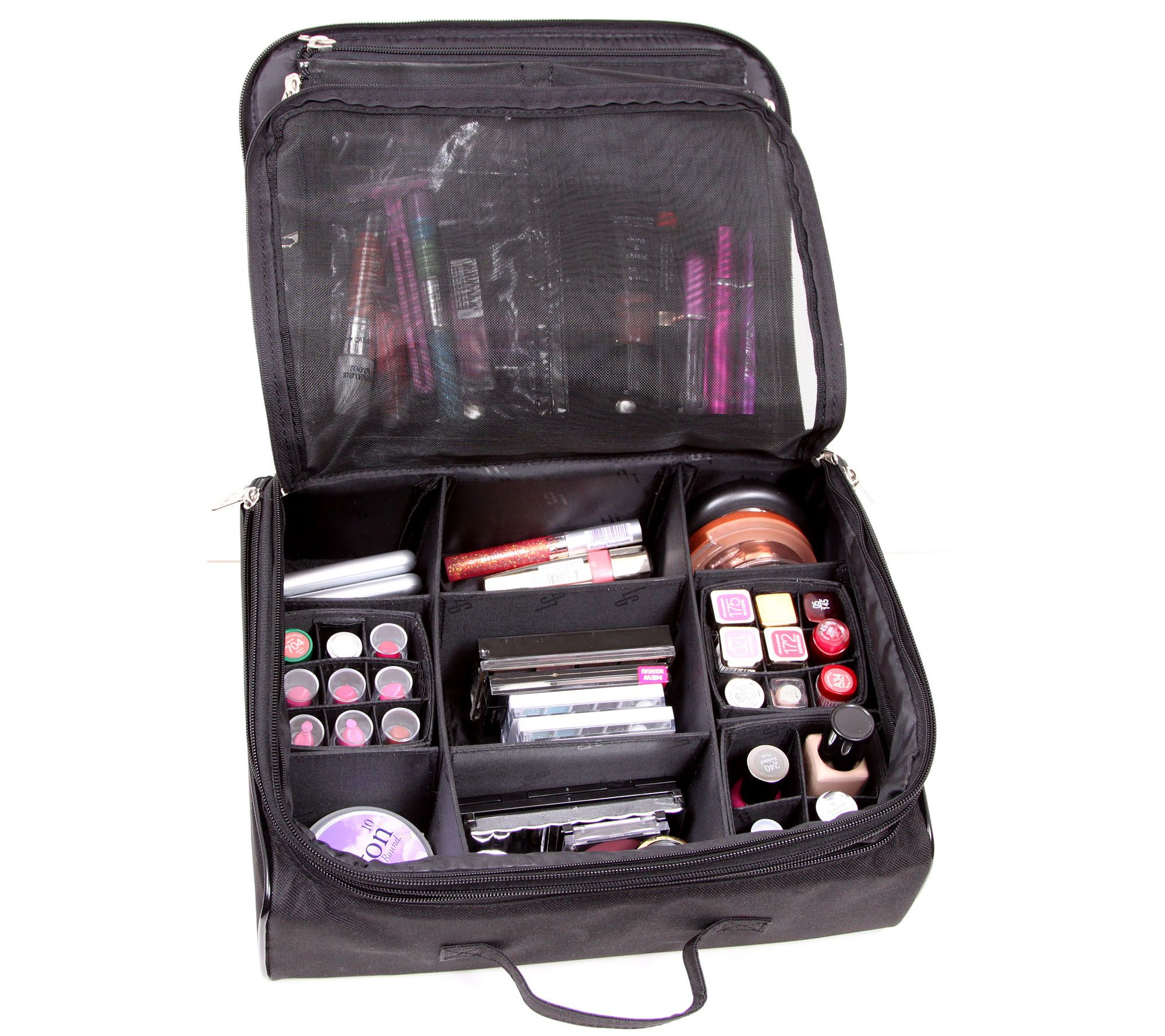 Qvc Makeup Organizer Delectable Ultimate Cosmetic Organizer Caselori Greiner  Cosmetics