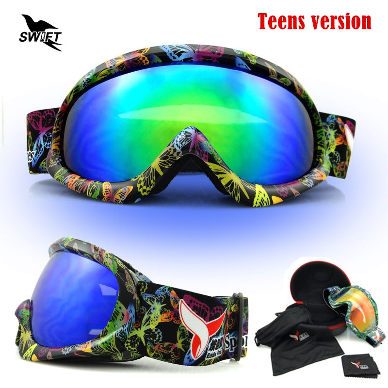 8b799bde9748 New Snow Riding Googles Windproof Motorcycle Snowmobile Skiing Graffiti  Goggles