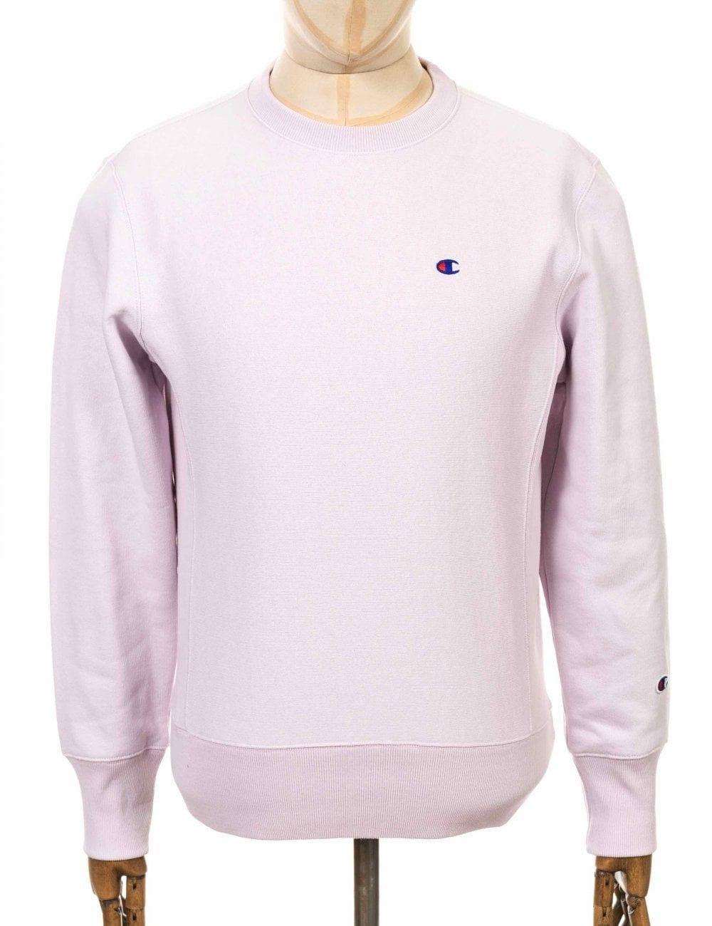 Champion Reverse Weave Crewneck Sweatshirt Lvf Lavender Colour Lvf Champion Cloth Sweatshirts Crew Neck Sweatshirt Champion Reverse Weave [ 1300 x 1000 Pixel ]