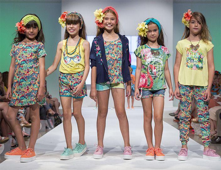 83ª edición de FIMI , Feria Internacional Moda Infantil , moda primavera verano 2017. Boboli