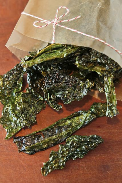 The Chubby Vegetarian: Candy Kale Chips and Pickled Kale Stems
