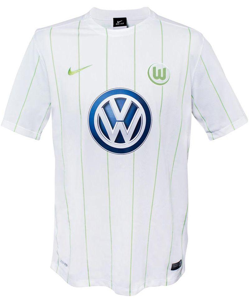Camisas do Wolfsburg 2017-2018 Nike  f8db8b890913c