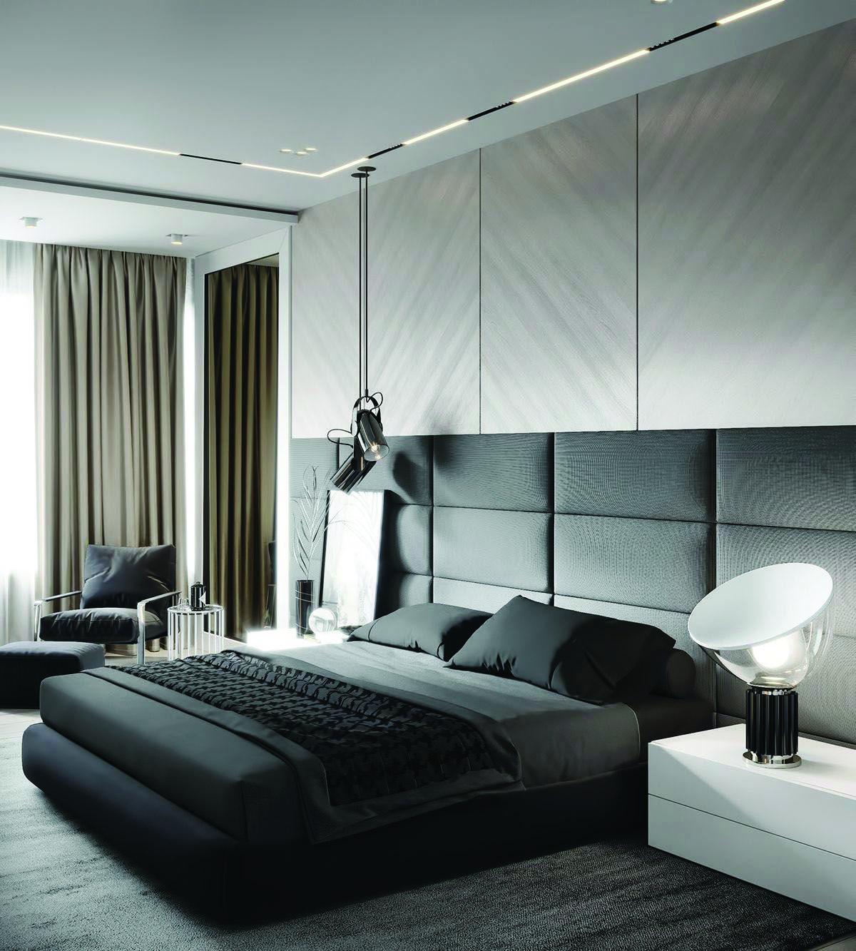 16 modern bedroom ideas you'll love Спальні, Ідеї для