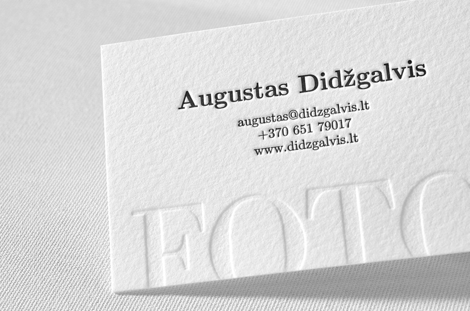 Photography Business Cards Elegante Press Letterpress Business Cards Photography Business Cards Luxury Business Cards