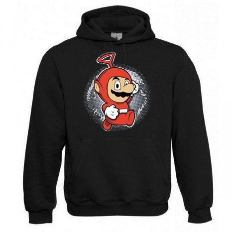 """Kapuzen Sweatshirt """"Mariotubbie"""" Fruit of the Loom, Beuteltasche, 80% Baumwolle"""