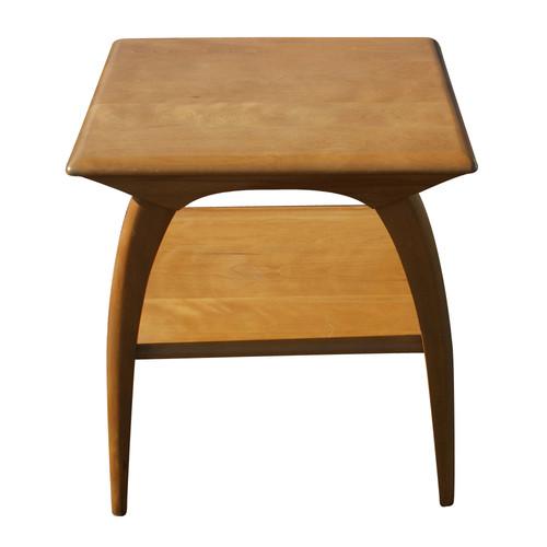Heywood Wakefield Mid Century Coffee Table End Tables: Heywood Wakefield End Table