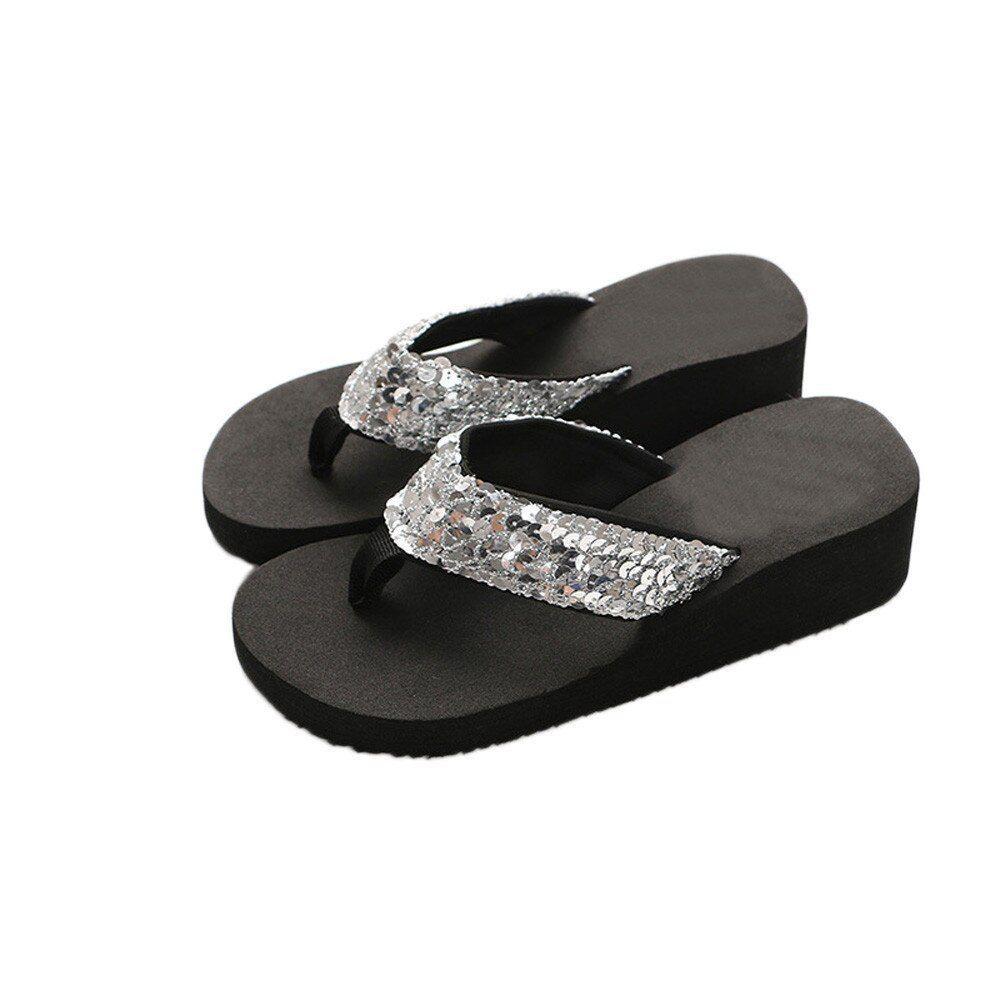 Women Summer Flip Flops Casual Slippers Flat Sandals Beach Open Toe Shoes