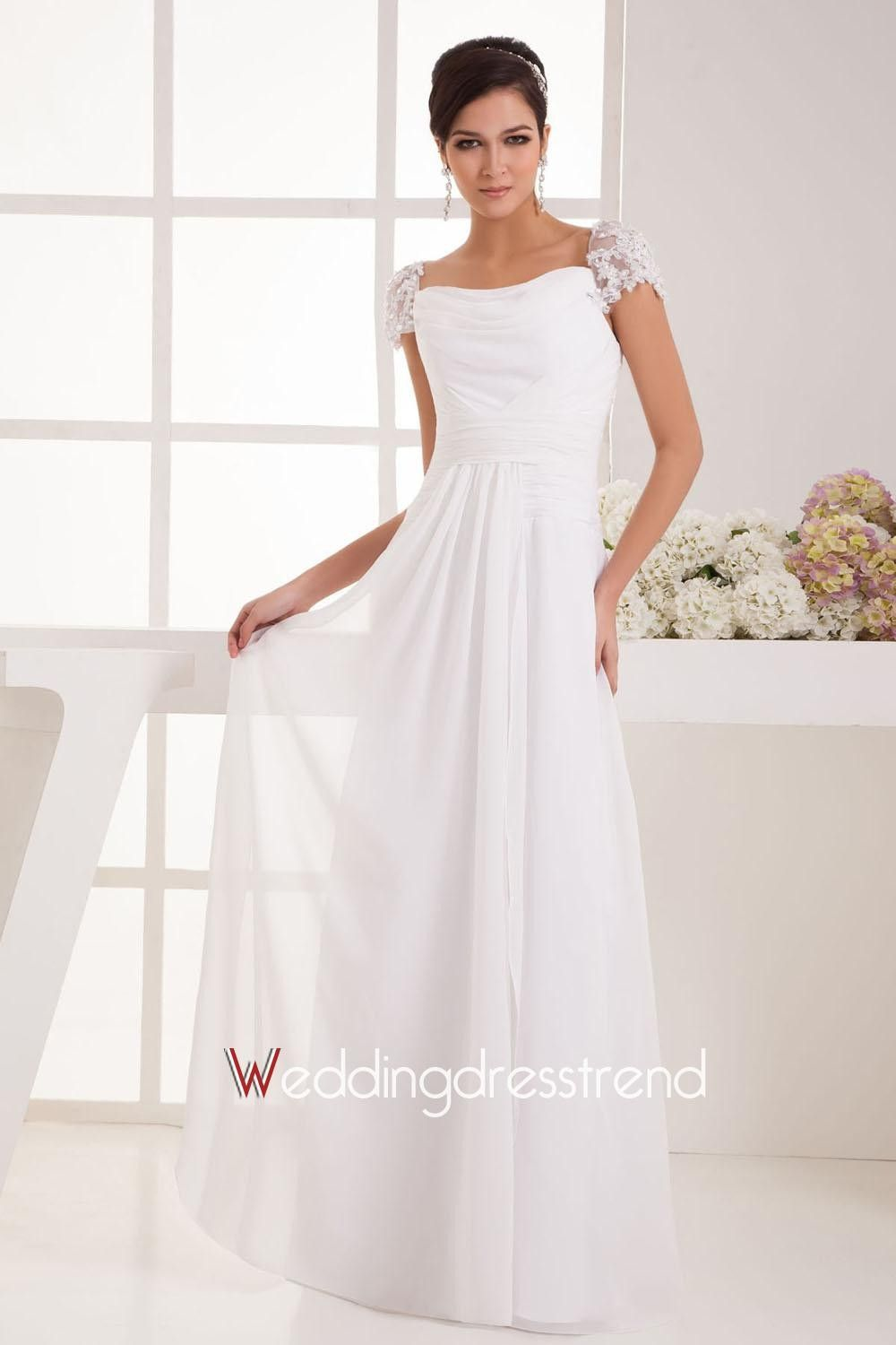 Wedding dress for pear shaped  Simple Empire Waist Wedding Dresses  Best Wedding Dress for Pear