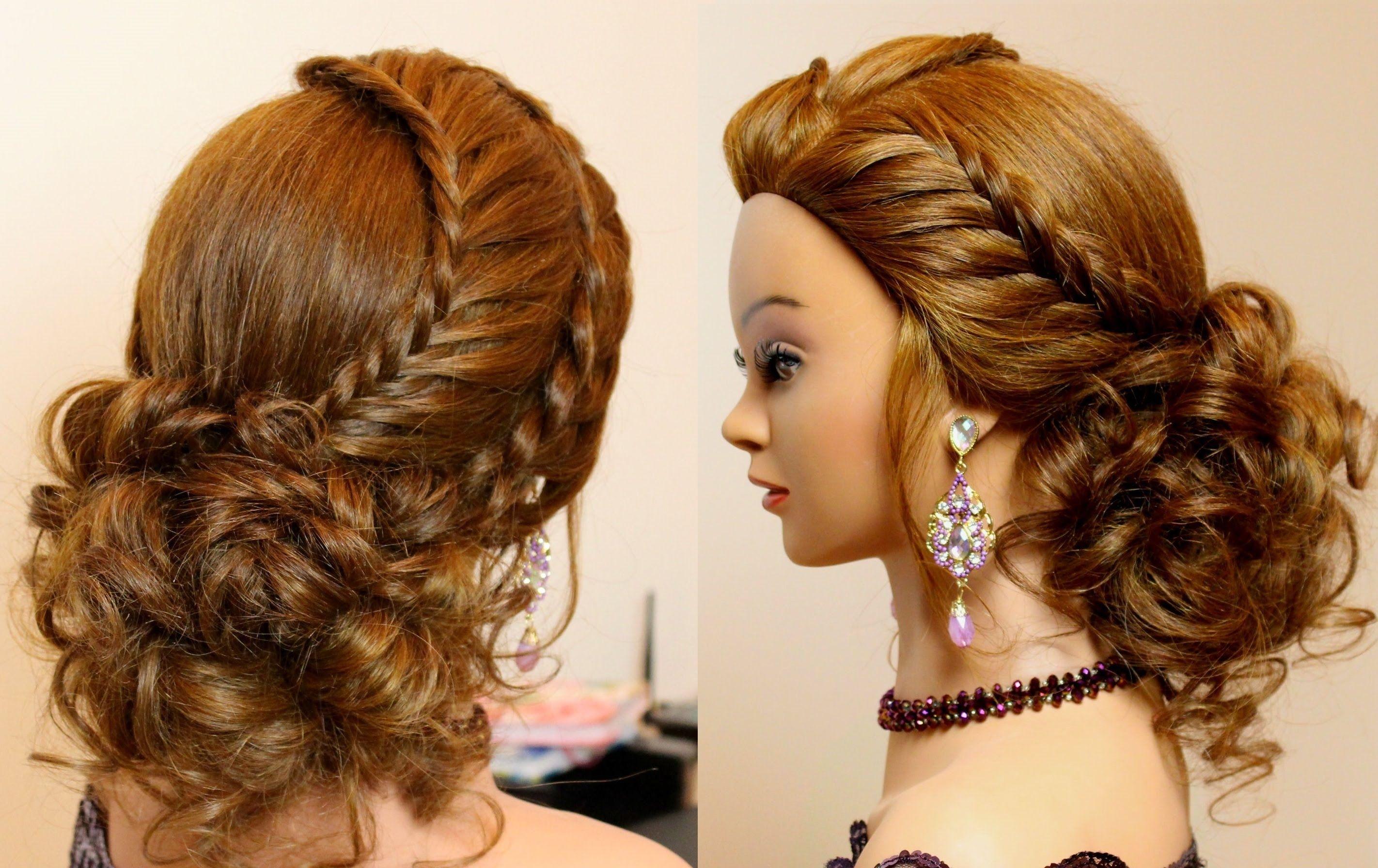 Bräute mit langen Haaren