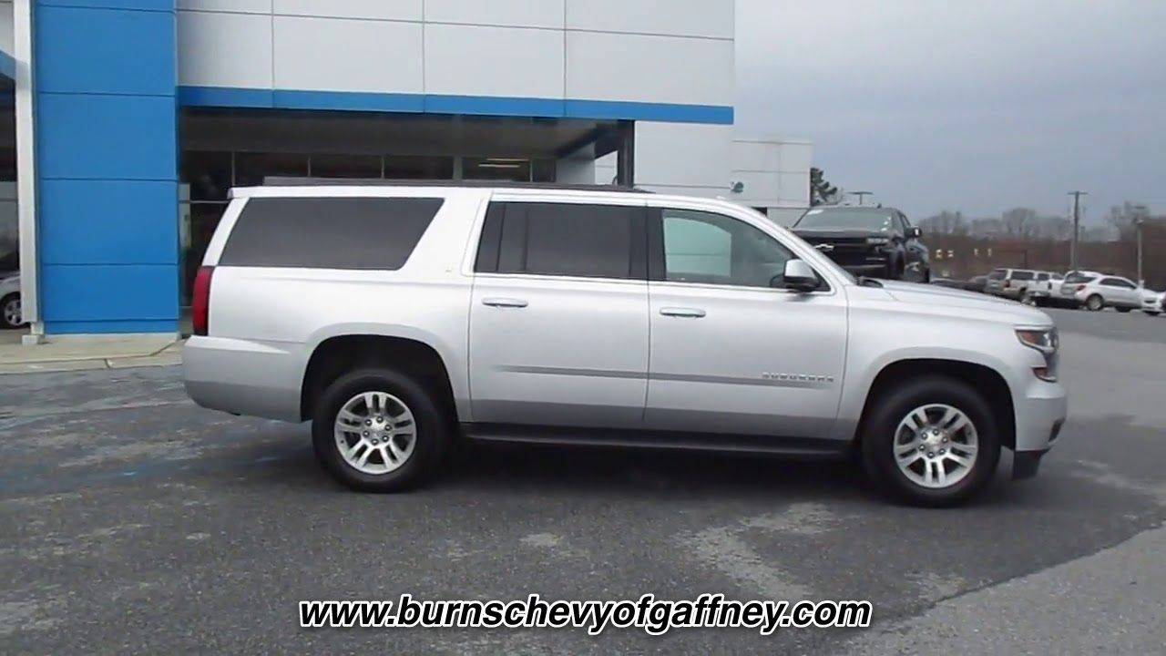 Used 2018 Chevrolet Suburban 2wd 4dr 1500 Lt At Burns Chevrolet Of