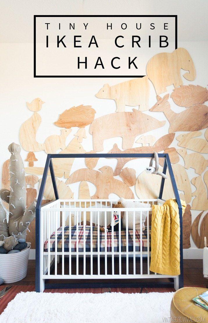 $20 Tiny House IKEA Crib Hack images