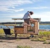 Relax Shacks Makes Tranquil Tiny Homes Out of Scrap and Salvage
